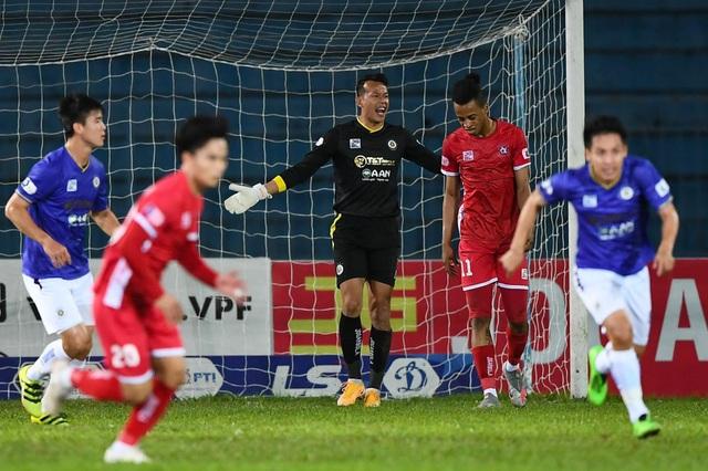 Tấn Trường và Hùng Dũng tỏa sáng, CLB Hà Nội giành 3 điểm ở Hải Phòng - 4