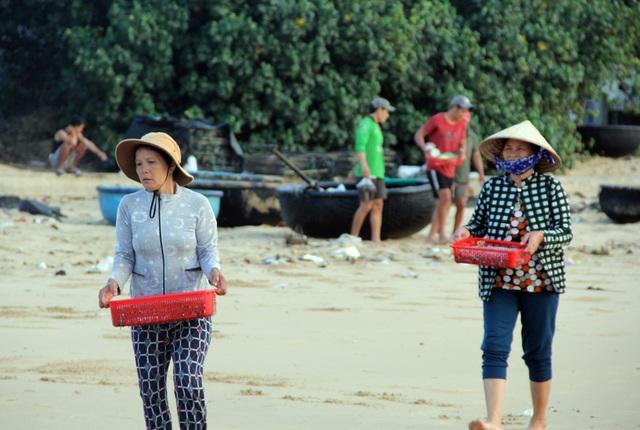 Phú Yên: Tất bật mưu sinh trong buổi sáng sớm ở làng chài ven biển - 7