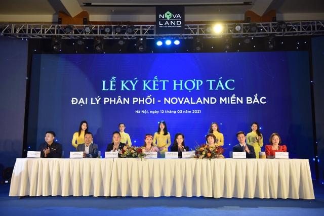 Toàn Thịnh Land kí kết hợp tác chiến lược với 7 công ty BĐS phát triển Novaland miền bắc - 1