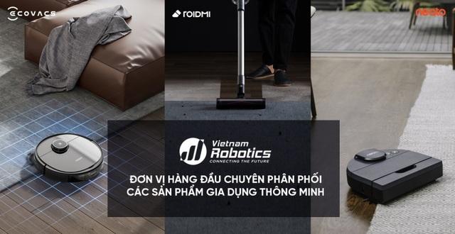 Vietnam Robotics - Đơn vị độc quyền phân phối máy hút bụi lau nhà cầm tay Xiaomi Roidmi - 3