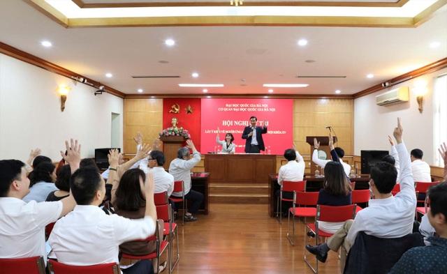 Giám đốc ĐHQGHN được tín nhiệm giới thiệu ứng cử Đại biểu Quốc hội khóa XV - 1