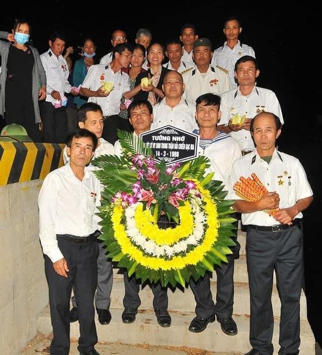 Xúc động lễ giỗ chung của 64 liệt sĩ Gạc Ma - 8