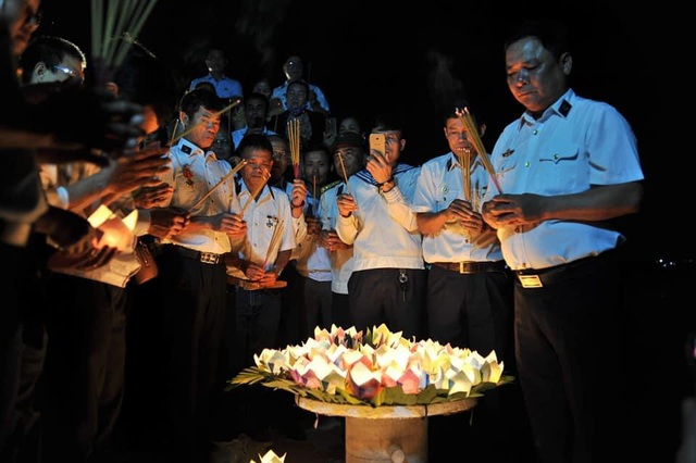 Xúc động lễ giỗ chung của 64 liệt sĩ Gạc Ma - 9