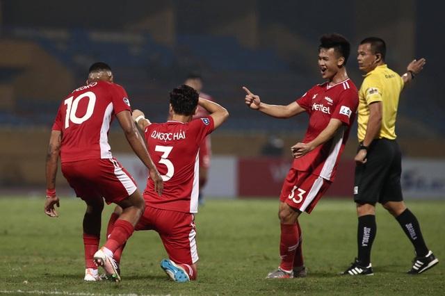 Quế Ngọc Hải tỏa sáng, CLB Viettel thắng trận đầu tay - 2