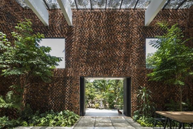 Độc đáo nhà tự thở, mang cả thiên nhiên vào bên trong ở Biên Hòa