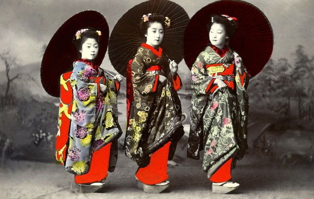 Geisha đầu tiên ở Nhật Bản là nam giới. Ảnh: Pixabay