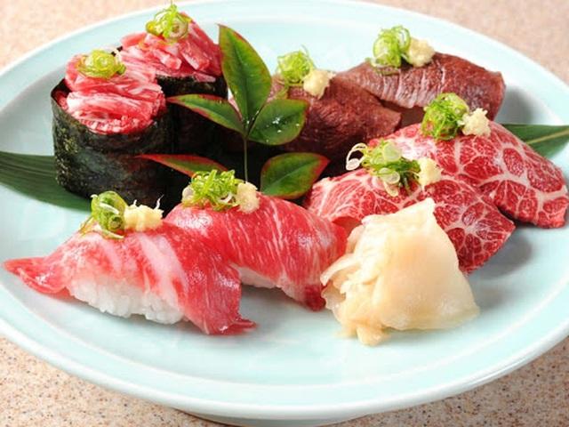Món basahi thượng hạng được phục vụ trong các nhà hàng. Ảnh: Goin' Japanesque