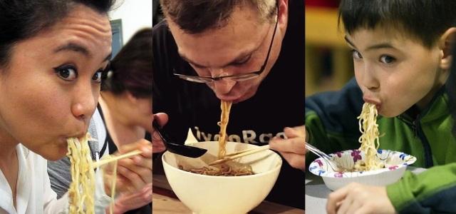 Húp đồ ăn xì xụp được khen ngợi tại Nhật Bản. Ảnh: Food Hacks