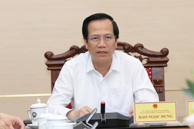 Bộ trưởng Đào Ngọc Dung: Cà Mau có thể là điểm sáng về BHXH tự nguyện - 1