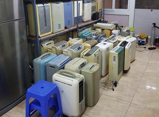 Mùa nồm ẩm, máy lọc không khí hàng bãi giá rẻ lại lên ngôi - 1