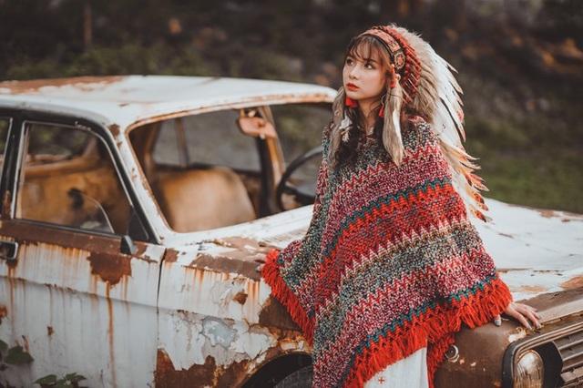 Hồn nhiên và phóng khoáng, cô gái 19 tuổi gây ấn tượng với bộ ảnh Bohemian - 11