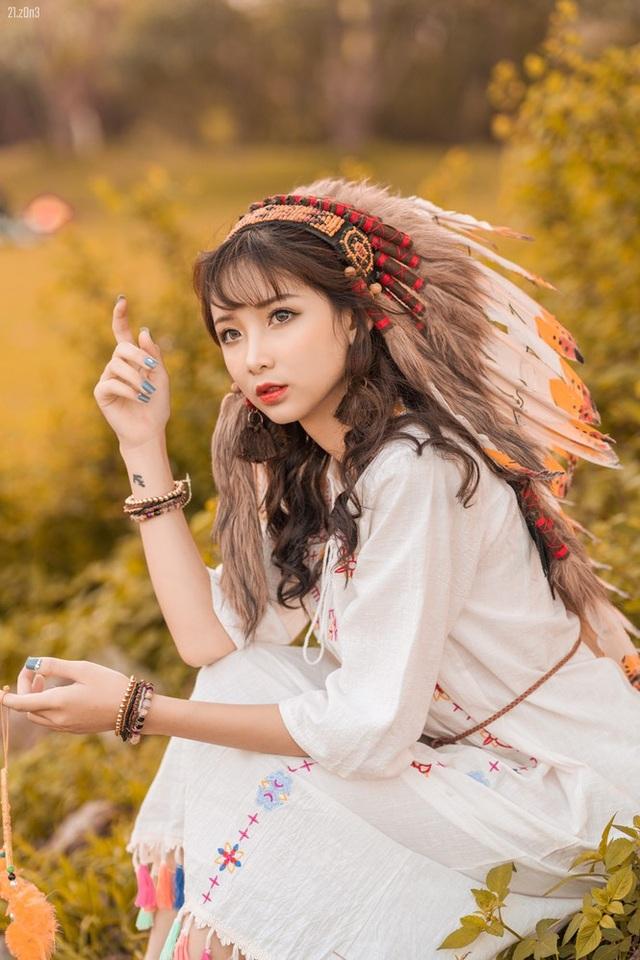 Hồn nhiên và phóng khoáng, cô gái 19 tuổi gây ấn tượng với bộ ảnh Bohemian - 2