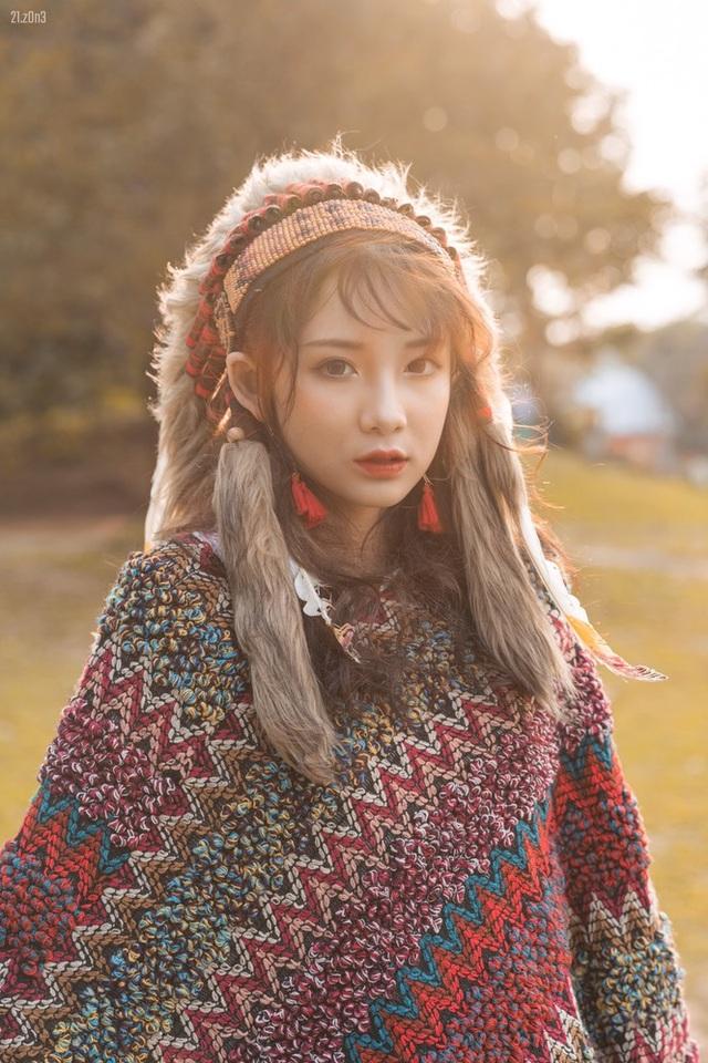 Hồn nhiên và phóng khoáng, cô gái 19 tuổi gây ấn tượng với bộ ảnh Bohemian - 3