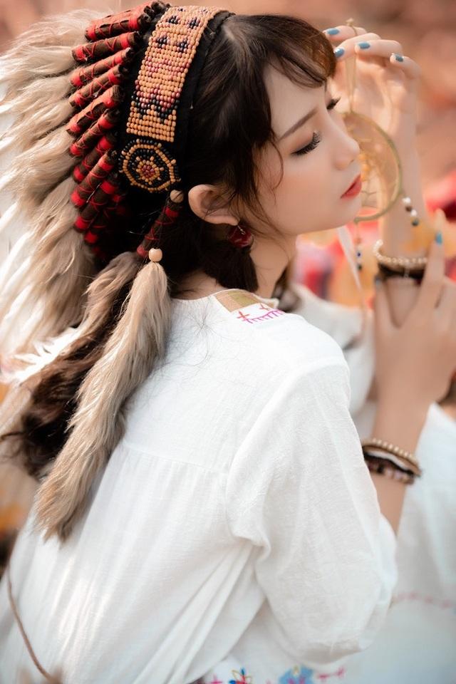 Hồn nhiên và phóng khoáng, cô gái 19 tuổi gây ấn tượng với bộ ảnh Bohemian - 4