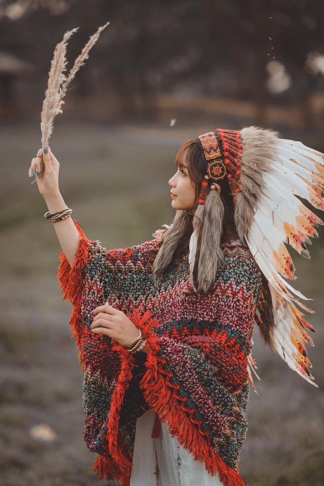 Hồn nhiên và phóng khoáng, cô gái 19 tuổi gây ấn tượng với bộ ảnh Bohemian - 6