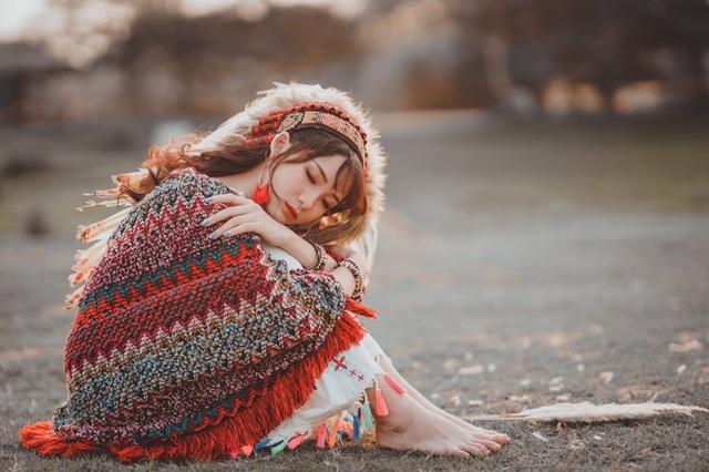 Hồn nhiên và phóng khoáng, cô gái 19 tuổi gây ấn tượng với bộ ảnh Bohemian - 7