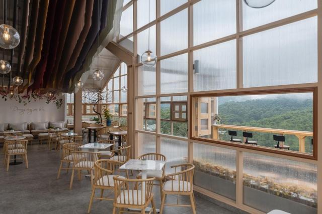 Quán cà phê xuyên thấu, khách vừa thưởng trà vừa chạm mây ở Đà Lạt - 8