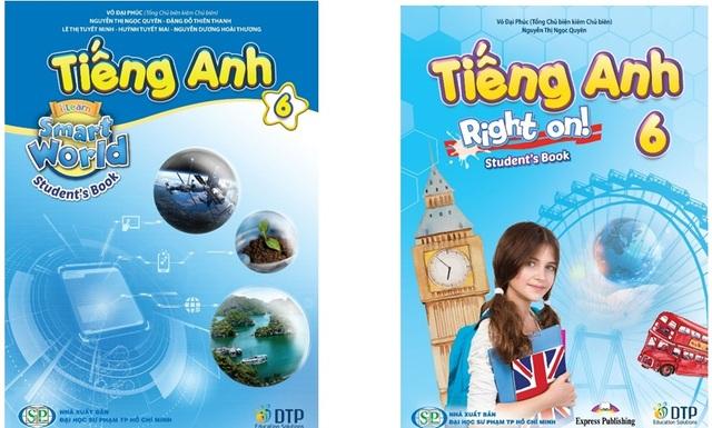Tiếng Anh 6 i-Learn Smart World và Tiếng Anh 6 Right on! là sách giáo khoa môn Tiếng Anh lớp 6 - 1
