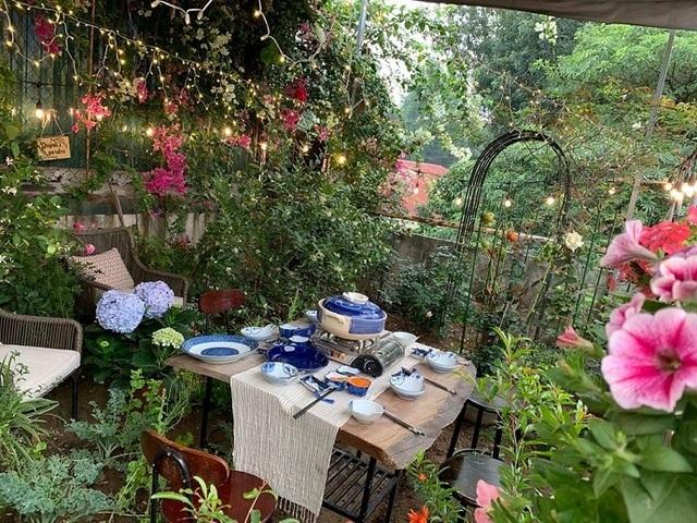 Khám phá vườn treo Babylon trên sân thượng của người phụ nữ Hà Nội - 2