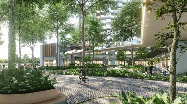 Ecopark chi nghìn tỷ làm công viên riêng biệt cho 2 tòa tháp thiên nhiên nhất khu đô thị - 2