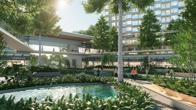 Ecopark chi nghìn tỷ làm công viên riêng biệt cho 2 tòa tháp thiên nhiên nhất khu đô thị - 4
