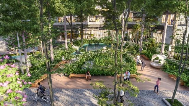 Ecopark chi nghìn tỷ làm công viên riêng biệt cho 2 tòa tháp thiên nhiên nhất khu đô thị - 5