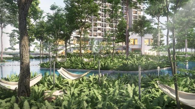 Ecopark chi nghìn tỷ làm công viên riêng biệt cho 2 tòa tháp thiên nhiên nhất khu đô thị - 6