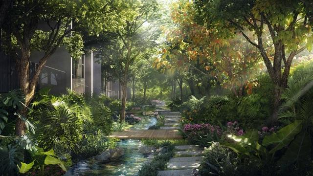 Ecopark chi nghìn tỷ làm công viên riêng biệt cho 2 tòa tháp thiên nhiên nhất khu đô thị - 8