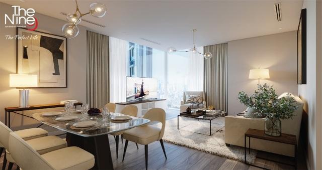 Ra mắt căn hộ thực tế tại dự án The nine - 2