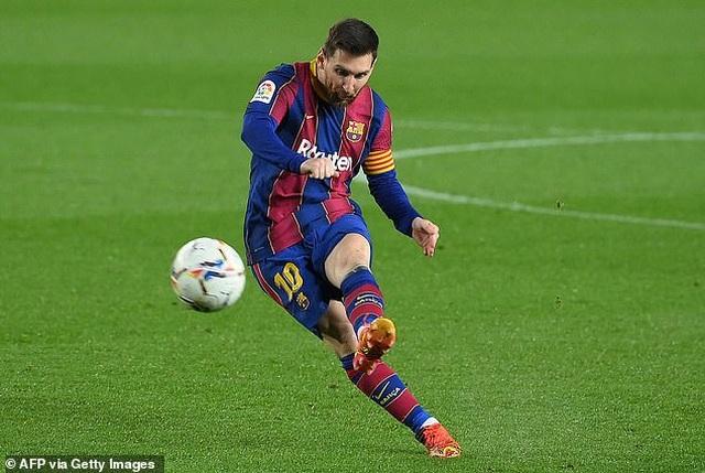 Messi lập cú đúp, Barcelona bám đuổi quyết liệt Atletico - 5