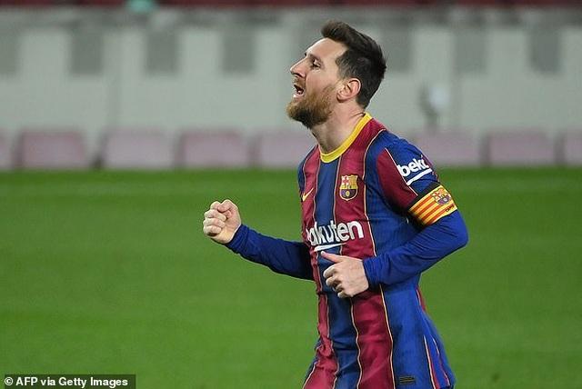 Messi lập cú đúp, Barcelona bám đuổi quyết liệt Atletico - 1