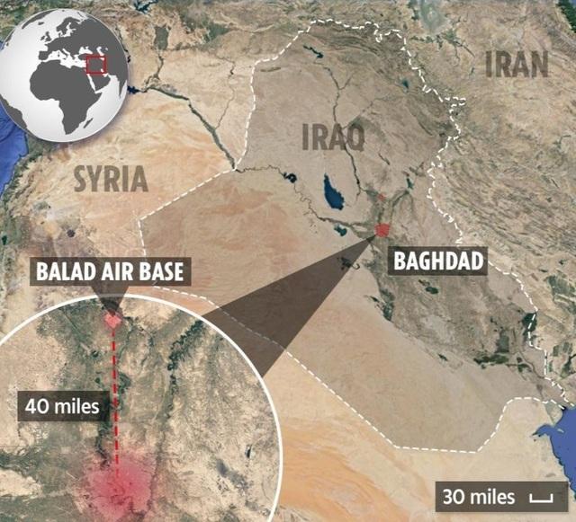 Mưa rocket trút xuống căn cứ Iraq có quân Mỹ đồn trú - 2
