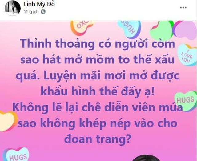 Diva Mỹ Linh nói gì khi bị chê sao hát mở mồm to thế, xấu quá? - 2