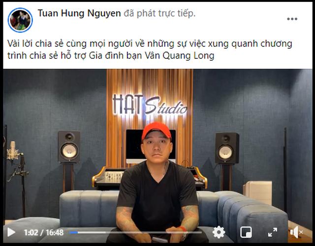 Tuấn Hưng bức xúc lên tiếng về ồn ào đêm nhạc tưởng nhớ Vân Quang Long - 1
