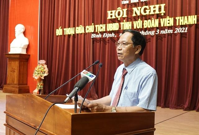 Chủ tịch tỉnh Bình Định: Tuổi trẻ phải dám ước mơ về những điều cao đẹp - 3
