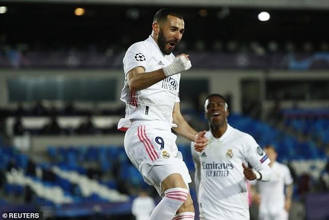 Hạ gục Atalanta, Real Madrid tiến vào tứ kết đầy thuyết phục - 3