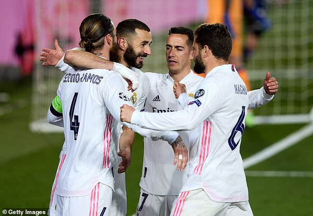 Hạ gục Atalanta, Real Madrid tiến vào tứ kết đầy thuyết phục - 9