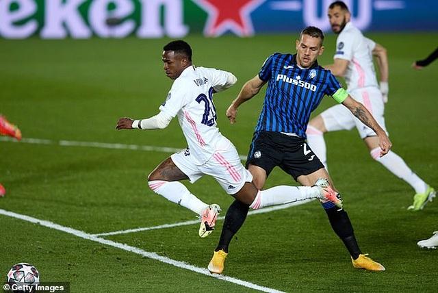 Hạ gục Atalanta, Real Madrid tiến vào tứ kết đầy thuyết phục - 1
