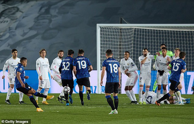 Hạ gục Atalanta, Real Madrid tiến vào tứ kết đầy thuyết phục - 6