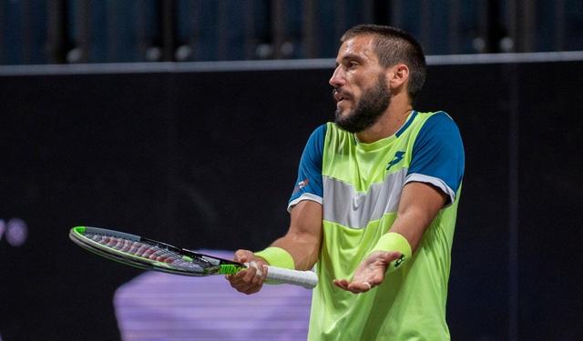 Ngôi sao tennis người Bosnia phủ nhận dọa giết trọng tài - 1