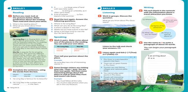 Sách giáo khoa tiếng Anh 6 theo chương trình giáo dục phổ thông 2018 - 2
