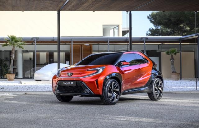 Toyota Aygo X Prologue chuẩn bị cho sự ra mắt của mẫu crossover đô thị mới - 1