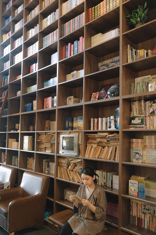 Quán cà phê cho những mọt sách ở Sài Gòn - 1