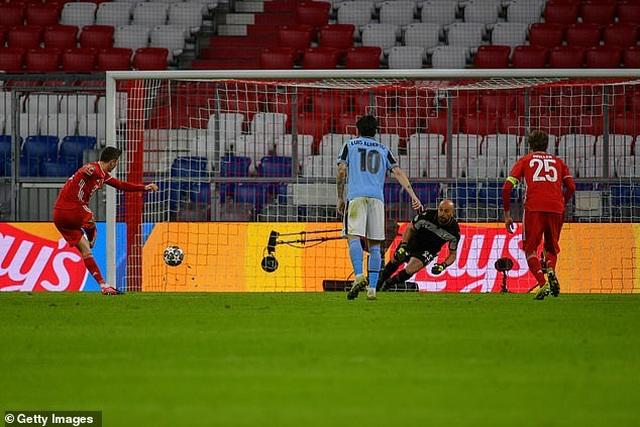 Thắng chung cuộc Lazio 6-2, Bayern Munich tiến vào tứ kết Champions League - 2