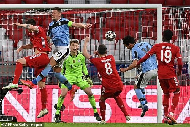 Thắng chung cuộc Lazio 6-2, Bayern Munich tiến vào tứ kết Champions League - 4