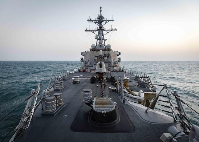 Hải quân Mỹ đẩy mạnh thách thức Trung Quốc ở Biển Đông - 1