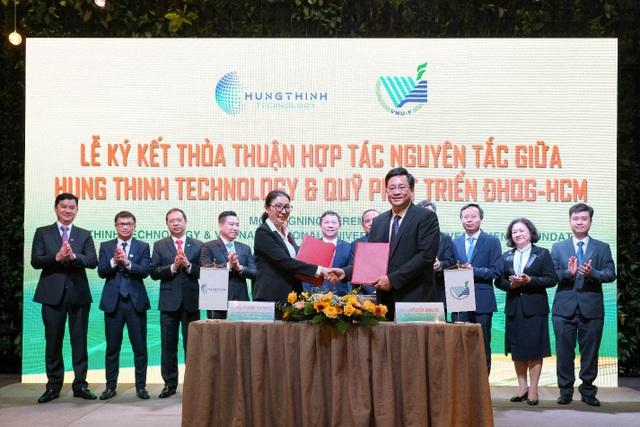 Tập đoàn Hưng Thịnh và Đại học Quốc gia TPHCM ký kết hợp tác chiến lược - 2