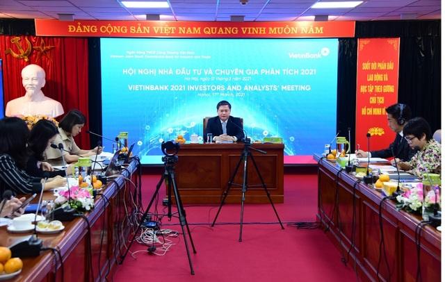 VietinBank tổ chức Hội nghị Nhà đầu tư và Chuyên gia phân tích năm 2021 - 2