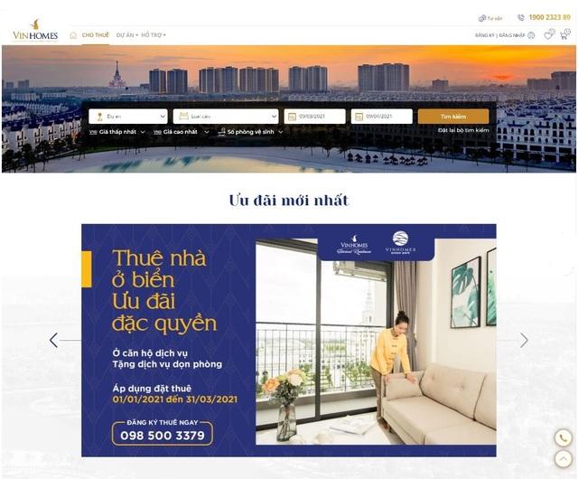 Vinhomes ra mắt sàn giao dịch thuê nhà trực tuyến - 1