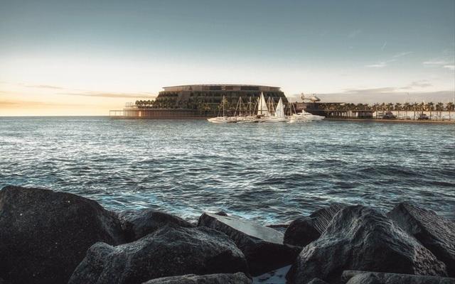Khách sạn ốc đảo giữa lòng biển khơi tự xoay tròn trong 24 giờ - 10